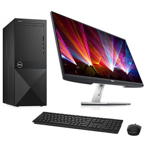 2.0. Desktop Dell Vostro 3888 + S2721H